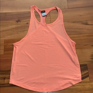 Nike Womens racer back muscle tee Size S/M